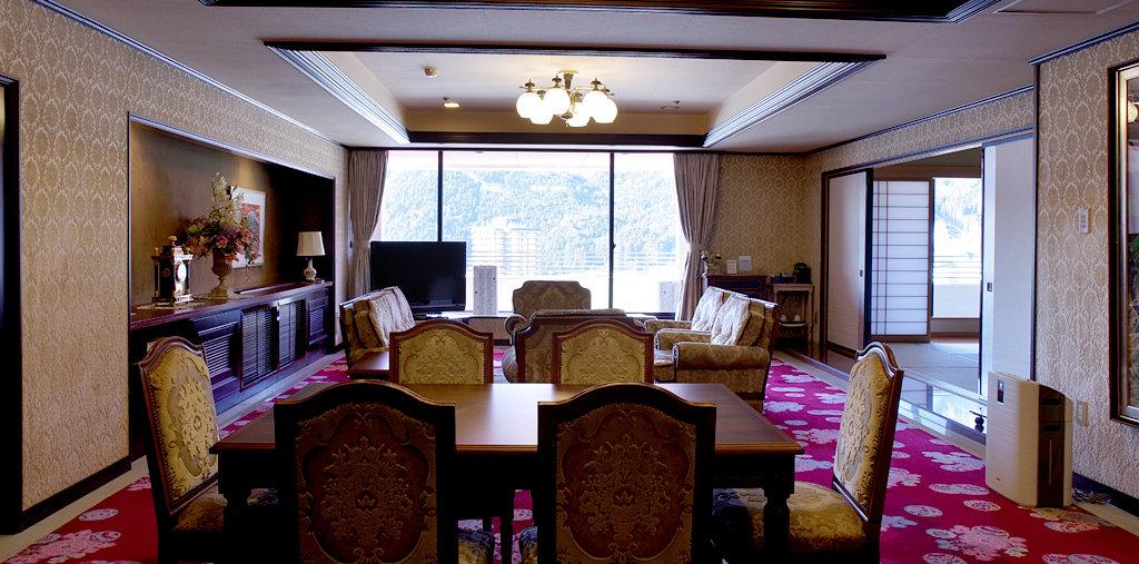 寛ぎのフロアー(貴賓室)(冬写真)イメージ