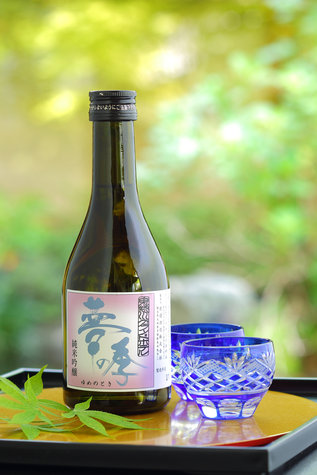 「お月見プラン」:お部屋でオリジナル冷酒「夢の季」とプチオードブル!