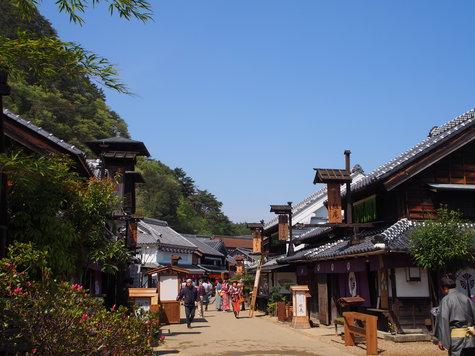 日光江戸村の「春の宴」(はるのえん)に参加してきました。(4/21)