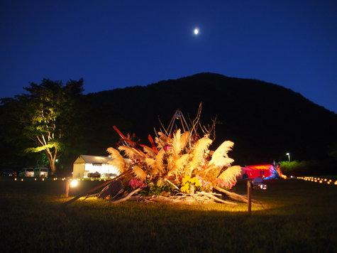「月明かり花回廊限定プラン」一泊二食プラン;早・夕食でイベント参加。
