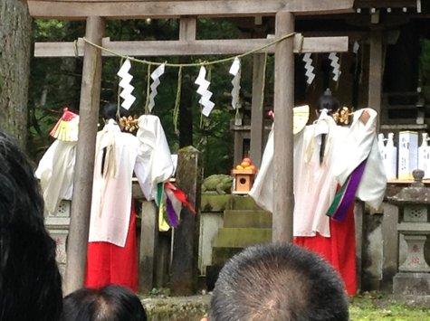 滝尾神社に行ってきました。(10/10)