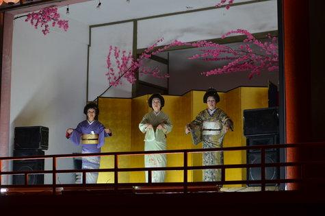 「夜桜大宴会」2019、1泊2食プラン。他