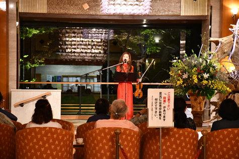 今日からのミュージックシンフォニー:ジャズバイオリニスト「渡辺美貴」さん。
