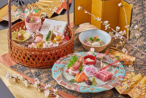 料理企画「年初め開運プラン」:初春に願いを籠めて!◆夕食時1ドリンク付