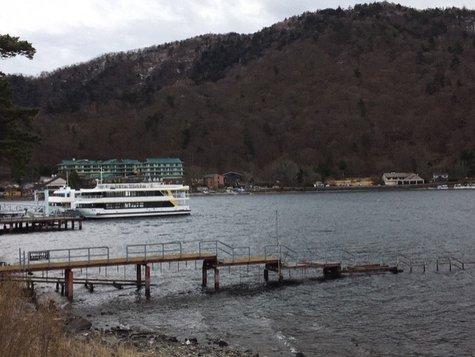 今日中禅寺湖に行ってきました。(4//22)