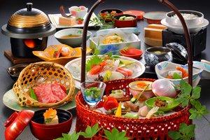 【グレードUP客室】1泊2食シンプルプラン:チェックアウト~11時+お料理アップグレードで贅沢に!