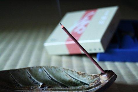【香のおもてなし】館内で焚く伝統的な和の香りに、ほっと一息。夢の季。
