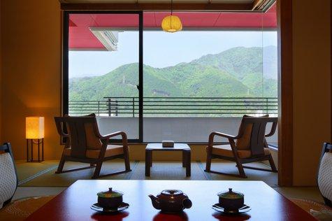 【客室】「本館和室」鬼怒川温泉グループ旅に♪二間つづきの広々空間です!